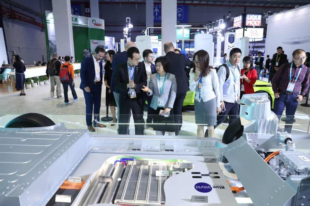 Blue World hybrid box at CIIE 2019
