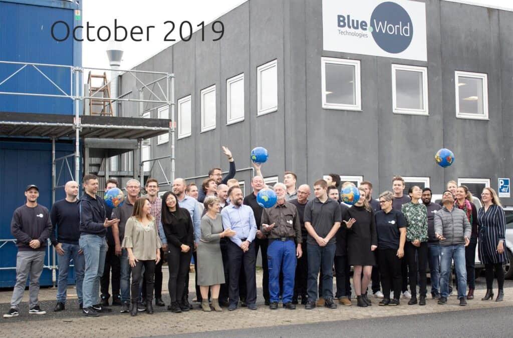 Blue World Technologies celebrates one year anniversary
