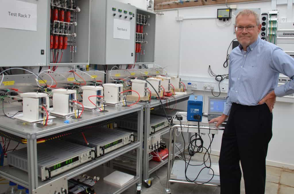 Danish Power Systems Hans Aage Hjuler and Blue World Technologies