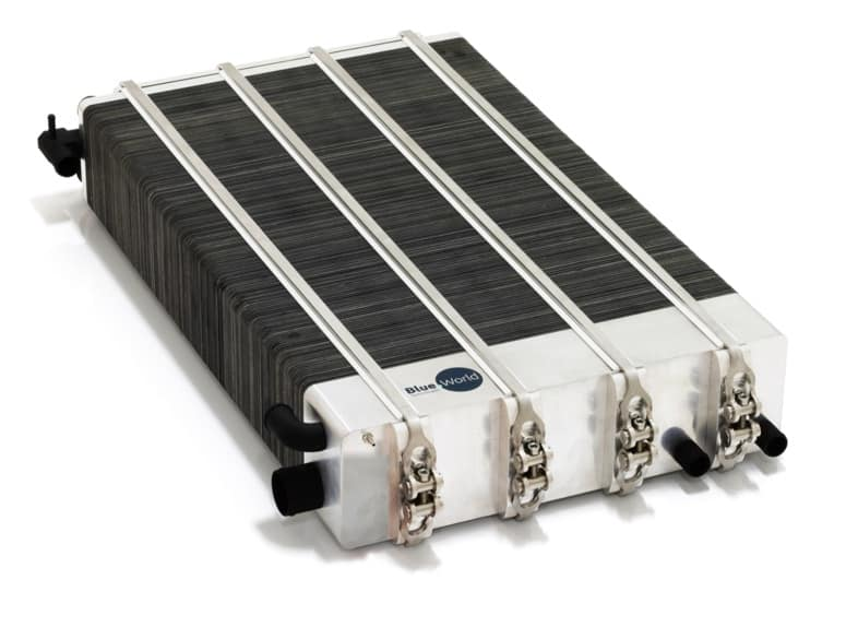 Methanol fuel cell stack
