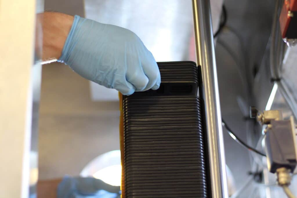 Fuel cell stack assembling