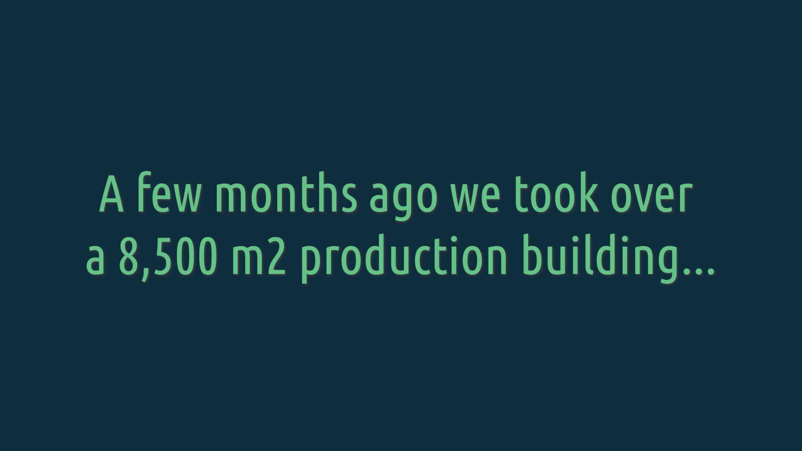 Blue World production building