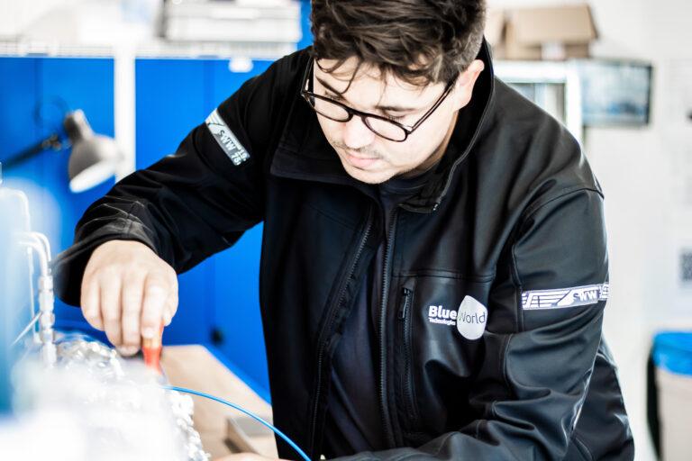 Jens-Emil working