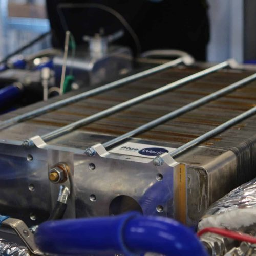 Blue World Technologies methanol fuel cell stack