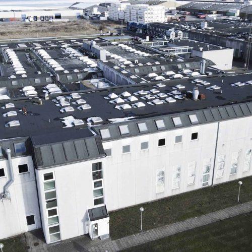 Blue Aalborg Factory