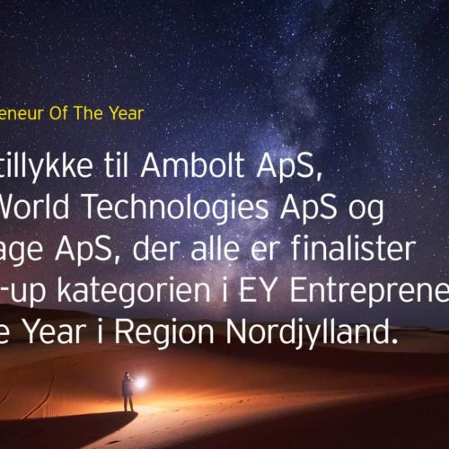 Blue World Technologies finalist in EY Entrepreneur of the Year